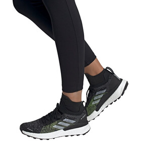 adidas TERREX Two Ultra Parley Trail Running Shoes Women core black/feather white/solar yellow